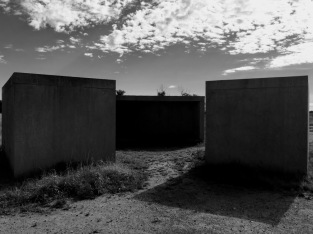 Donald Judd, 15 Untitled Works in Concrete, 1980-4, concrete slabs, 2.5 x 2.5 x 5 meters